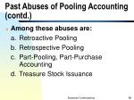 past abuses of pooling accounting contd1