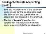 pooling of interests accounting contd1