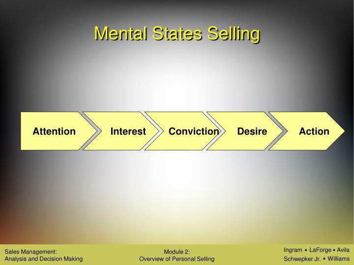 Mental States Selling
