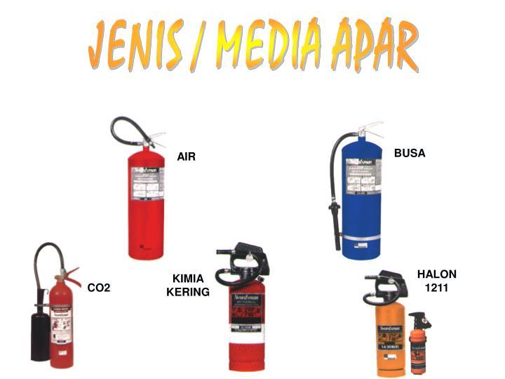 JENIS / MEDIA APAR