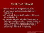 conflict of interest1