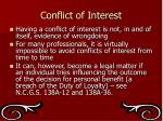 conflict of interest3
