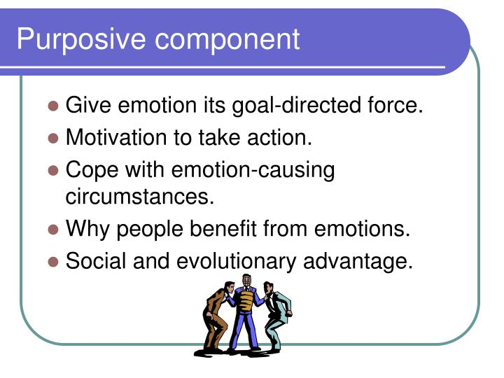 Purposive component