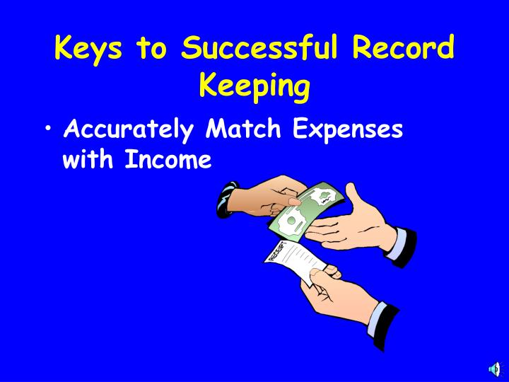Accurately Match Expenses with Income