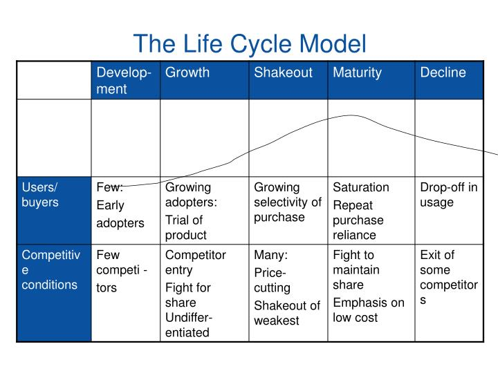 The Life Cycle Model