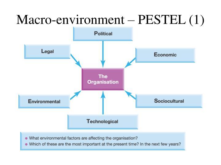 Macro-environment – PESTEL (1)