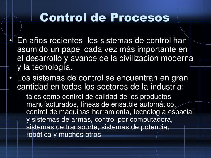 Control de procesos1