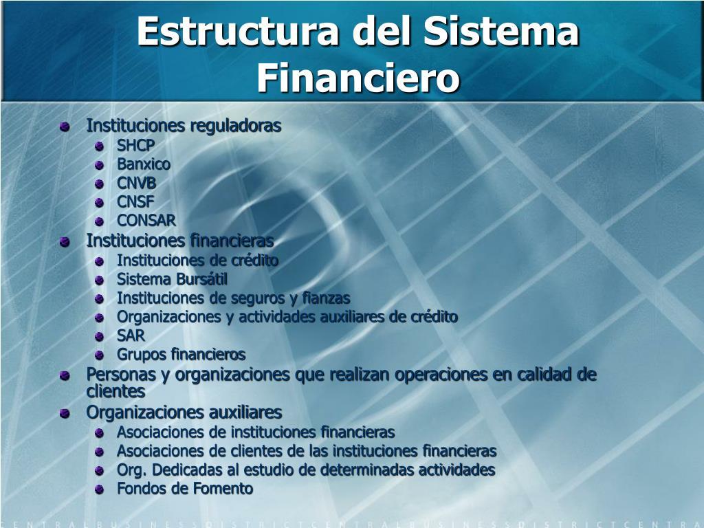 Ppt Sistema Financiero Mexicano Powerpoint Presentation