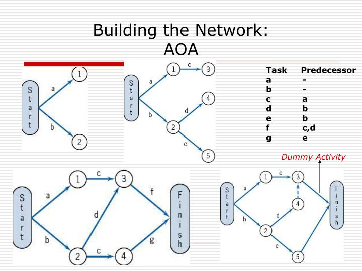 Building the Network: