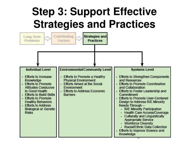 Step 3: Support Effective Strategies and Practices