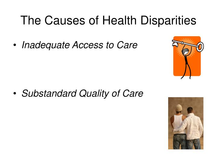 The Causes of Health Disparities
