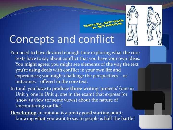 essays about encountering conflict Essay on conflict: free examples of essays, research and term papers essay on conflict: essay examples, topics, questions, thesis statement.