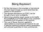 being bayesian