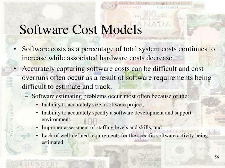 Software Cost Models