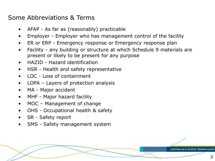 Some abbreviations terms