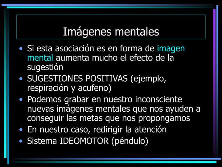 Imágenes mentales