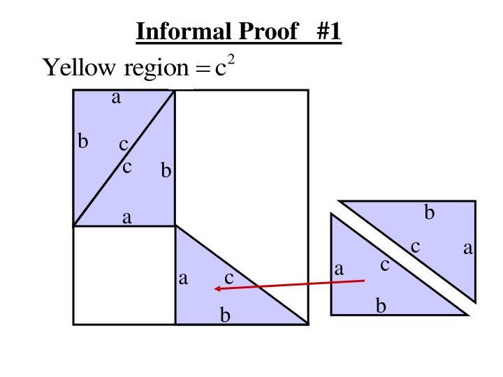 Informal Proof   #1