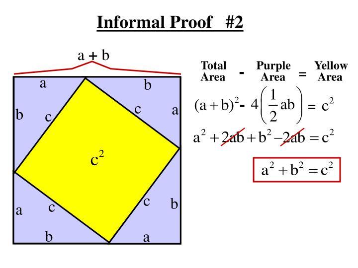 Informal Proof   #2