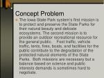 concept problem