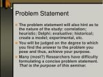 problem statement3