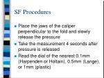 sf procedures1
