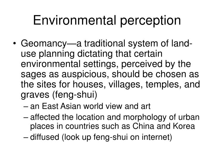Environmental perception