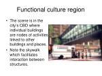 functional culture region1