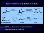 enzymatic creatinine method