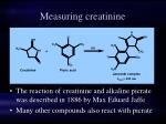 measuring creatinine
