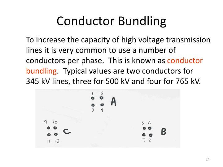 Conductor Bundling