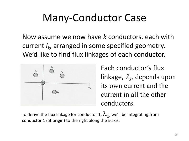 Many-Conductor Case
