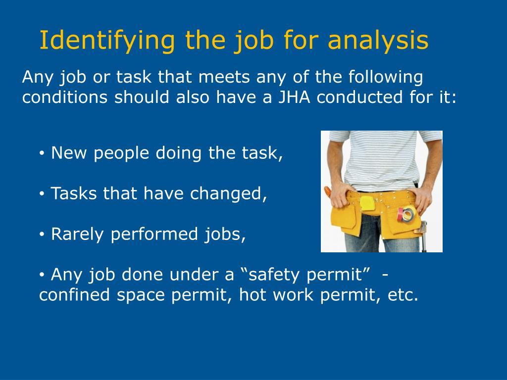 PPT - Job Hazard Analysis (JHA) PowerPoint Presentation - ID