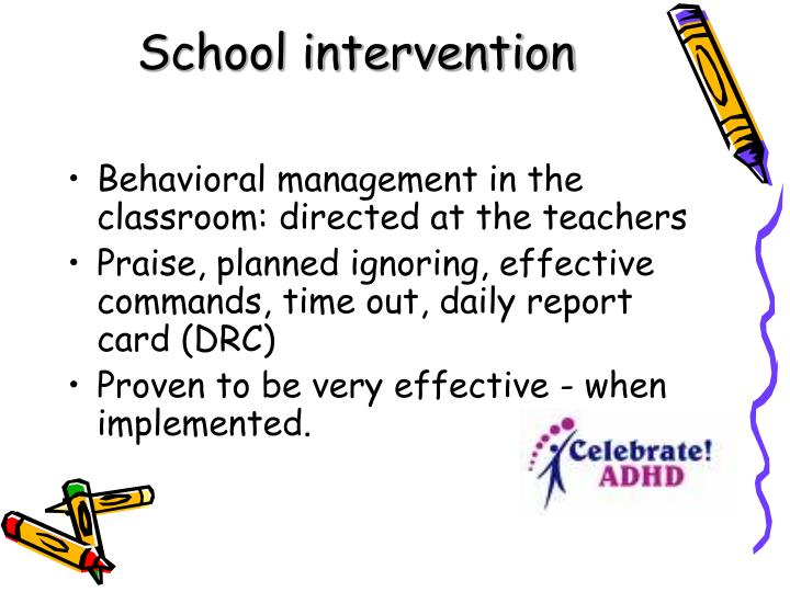 School intervention