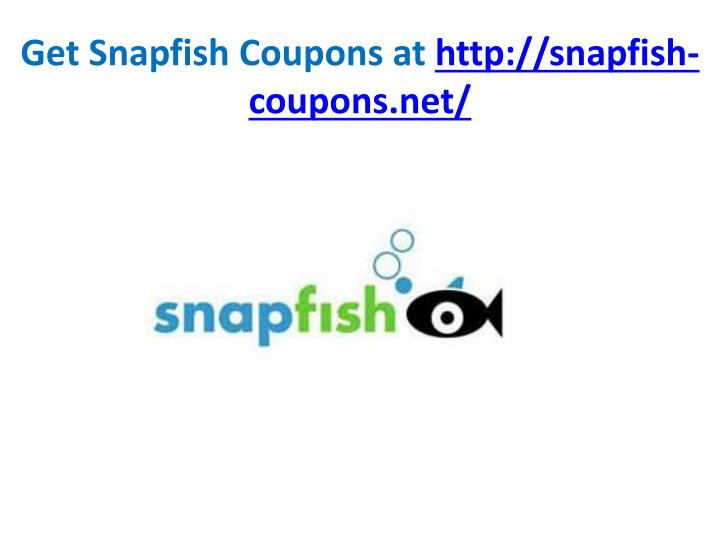 Get snapfish coupons at http snapfish coupons net