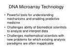 dna microarray technology
