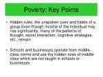 poverty key points2