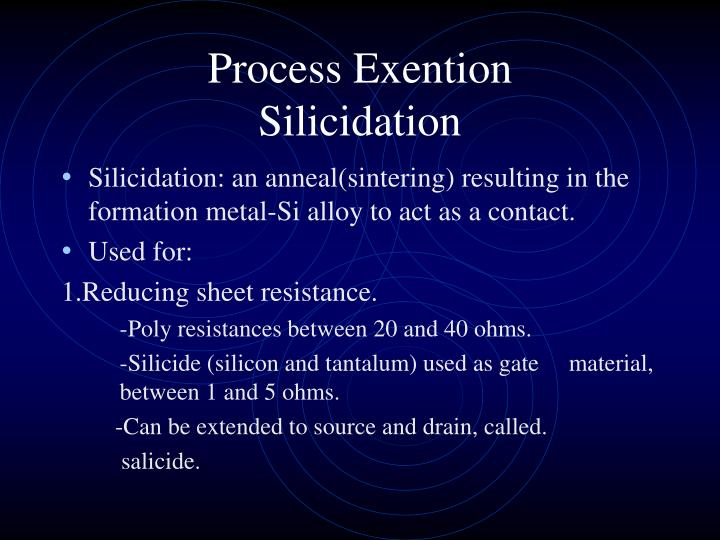 Process Exention