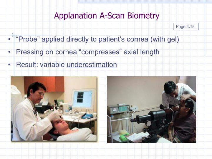 Applanation A-Scan Biometry