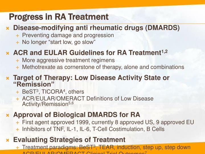Progress in ra treatment