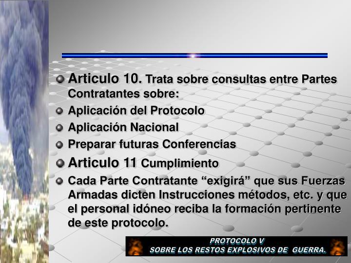 Articulo 10.