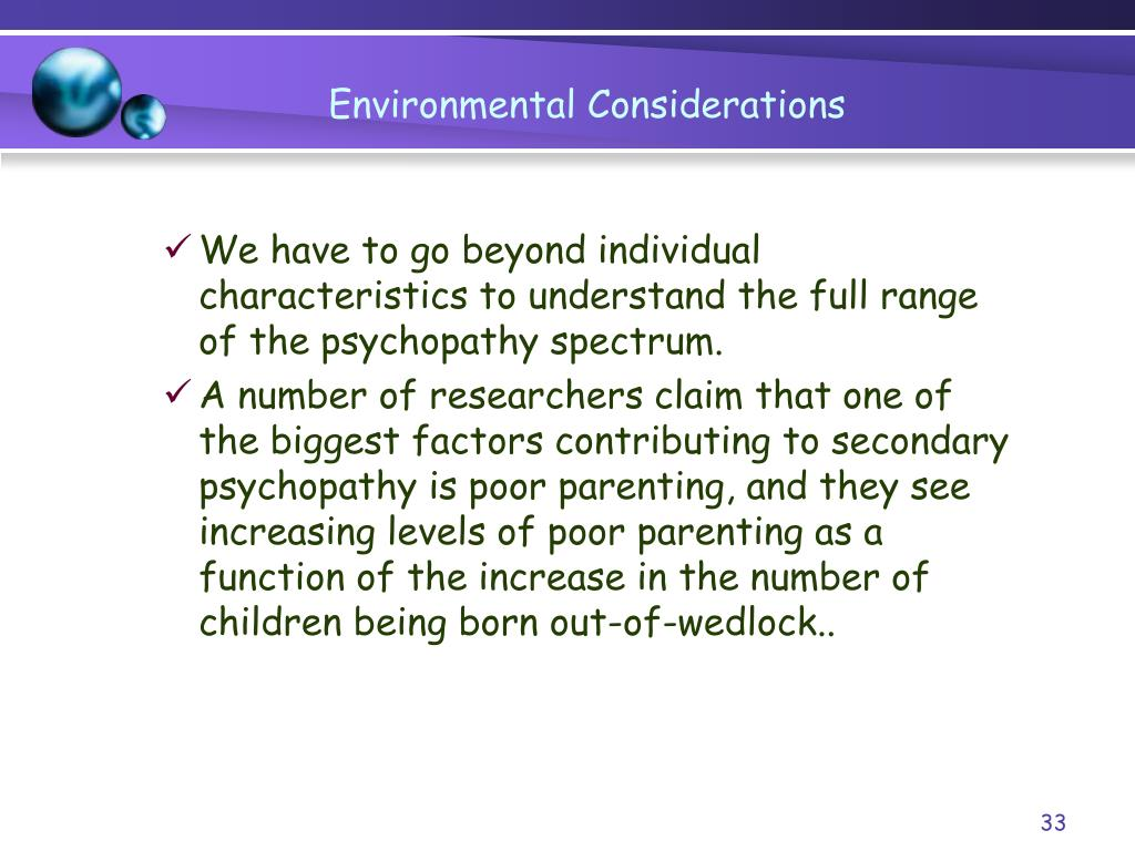 PPT - Chapter 7 Psychosocial Theories: Individual Traits