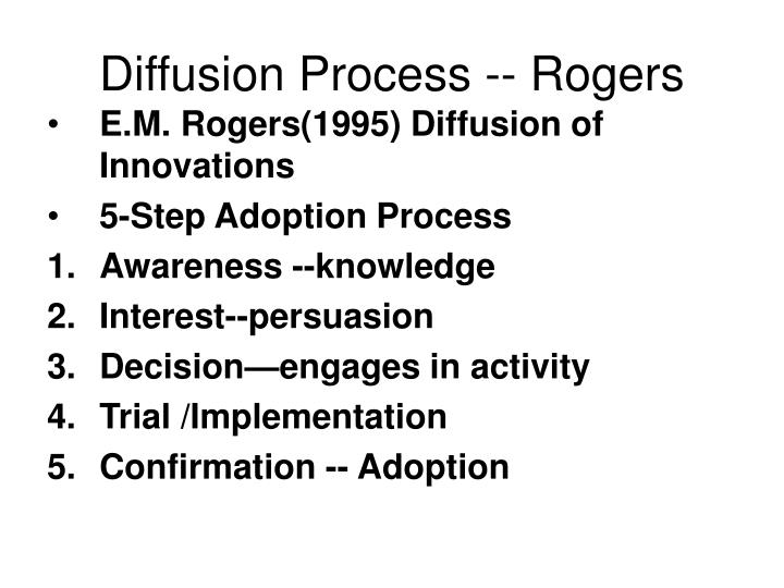 Diffusion Process -- Rogers