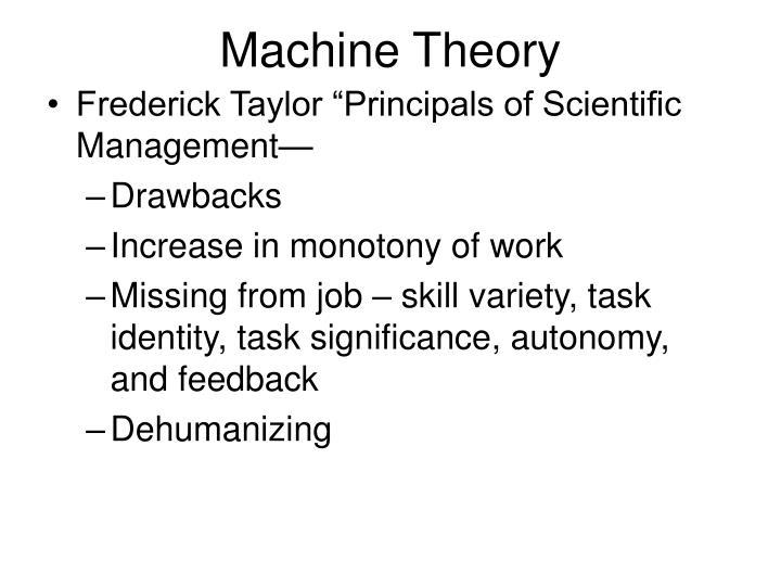 Machine Theory