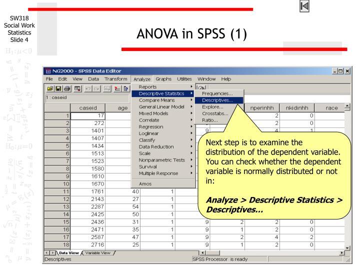 ANOVA in SPSS (1)