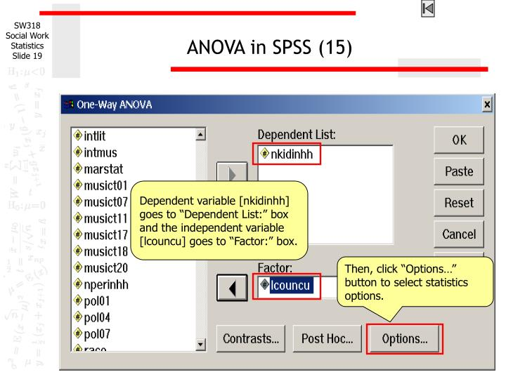 ANOVA in SPSS (15)