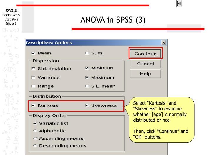 ANOVA in SPSS (3)