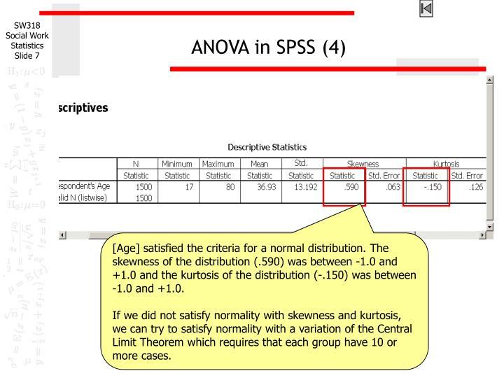 ANOVA in SPSS (4)
