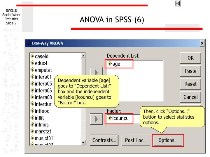 ANOVA in SPSS (6)