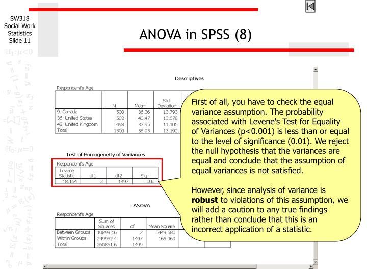 ANOVA in SPSS (8)