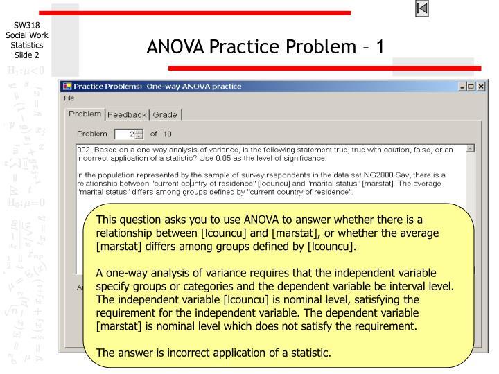 Anova practice problem 1